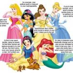ディズニープリンセスが女の子に教える6つのこと