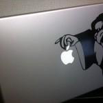 iPad用のスヌーピーシールが可愛すぎて大満足