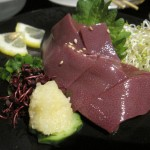 生まれて初めて、豚肉を生で食べた@中野「久遠の空」