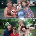 ほっこりする家族の成長写真