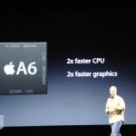 iPhone5、CPUはA6!いままでの2倍!グラフィックも2倍!