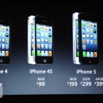 iPhone5、価格は4Sと同じ!予約は14日、発売は21日!
