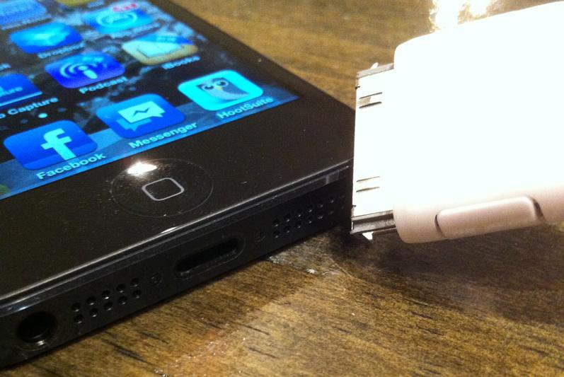 KickStarterで出資したアイテム、やっと届いたけどiPhone5非対応で泣きたい