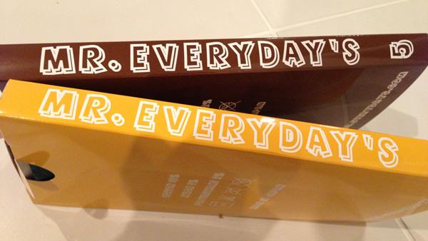 ステキなコンセプトの靴下「MR.EVERYDAY'S 」がすごくイイ!