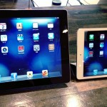 iPad mini とiPadを並べてみた