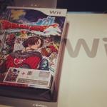 ドラクエX & Wii本体のセットを友人が買ってくれた。