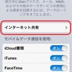 本日開始!SoftbankのiPhone5でテザリングきたー!