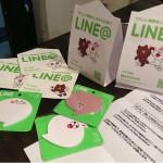 NHNさまより「LINE@」販促グッズが届いたー!