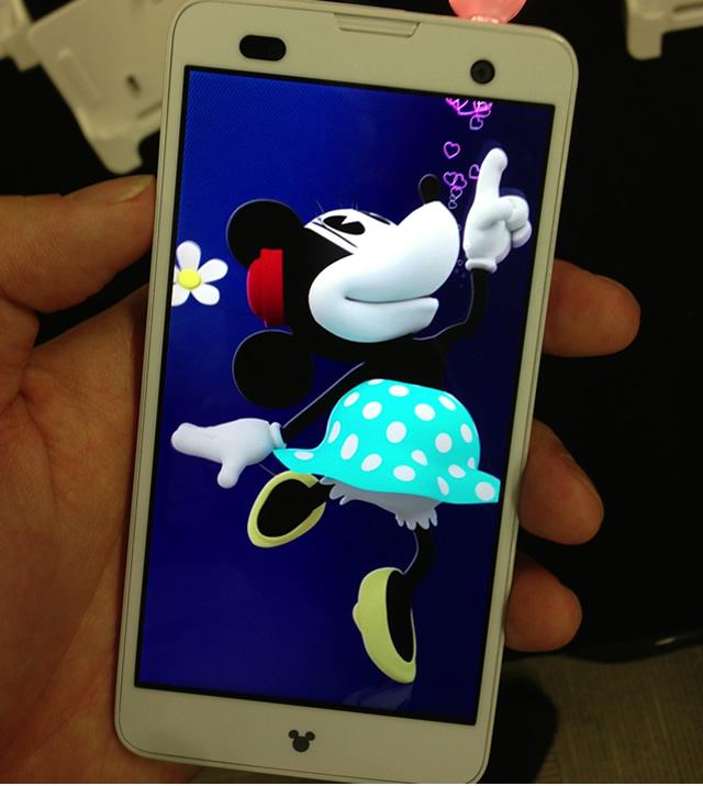 富士通の2013夏モデル「Disney mobile F-07E」が男でも欲しくなるくらい激可愛い