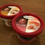 カップアイスをしっかり二等分する方法