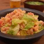 【男のレシピ】トマトとレタスのリゾット風チャーハンのつくり方
