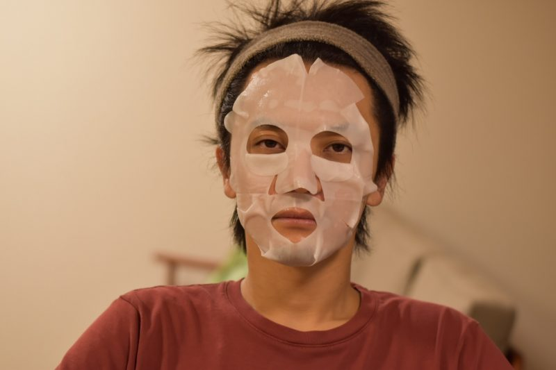 バルクオムの新製品THE FACE MASK(ザ フェイスマスク)を試してみました